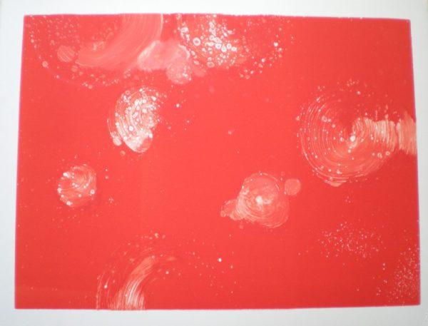 Red Raindrops