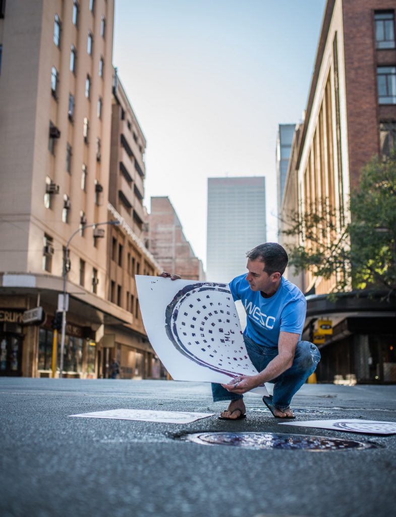 James Delaney manhole joburg