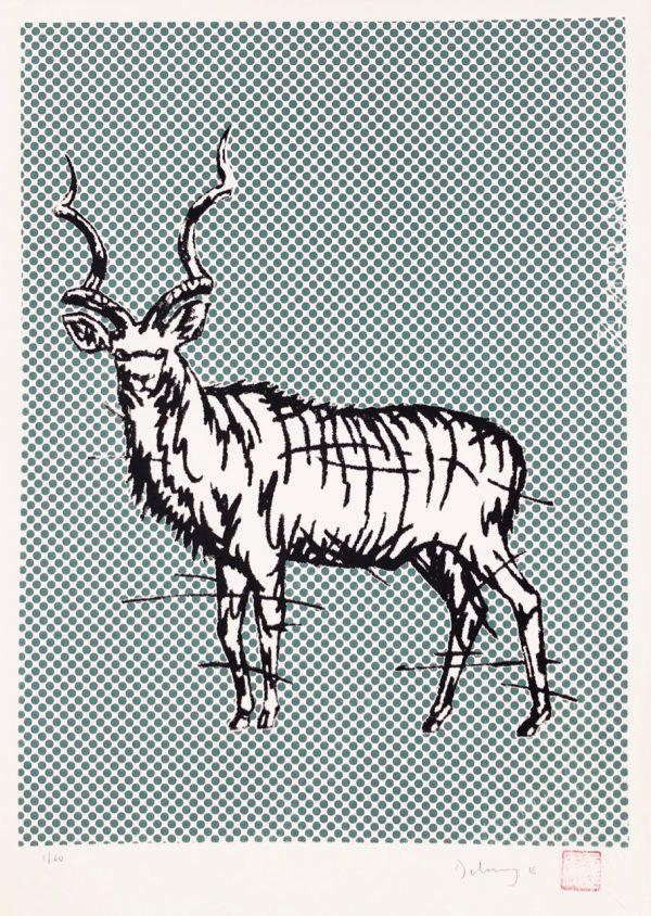 Lichtenstein's kudu