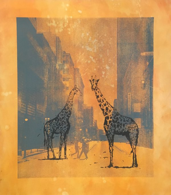 Ghosts of Market Street (Giraffes) 1/8