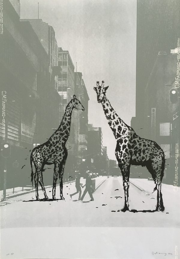 Ghosts of Market Street (Giraffes) 2/8