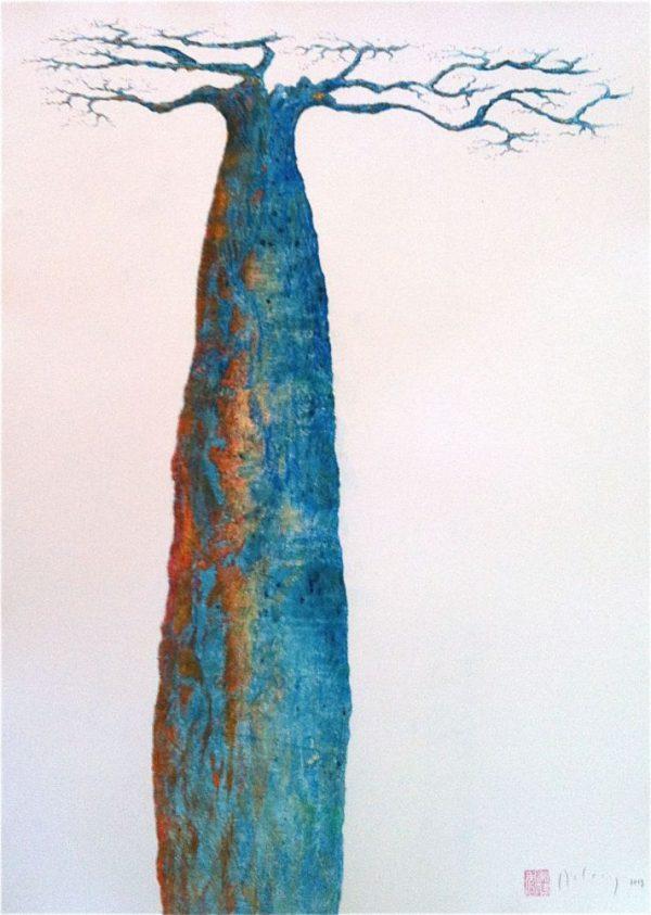 Psychedelic baobab 1