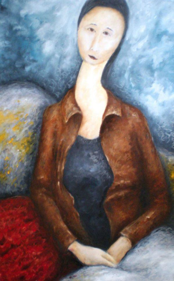 Youngmi with Mona Lisa Hands