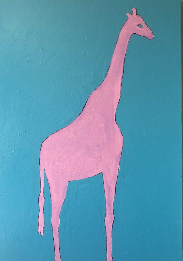 The pink giraffe