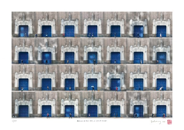 The Blue Door on W53rd Street