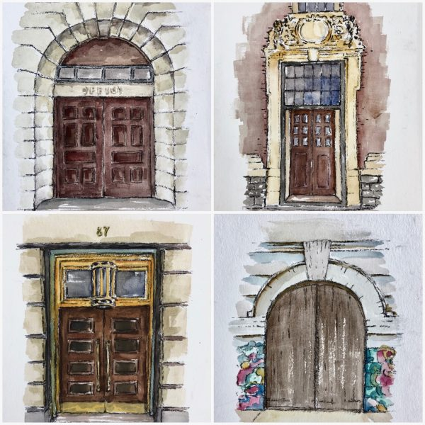 Joburg doorway sketches